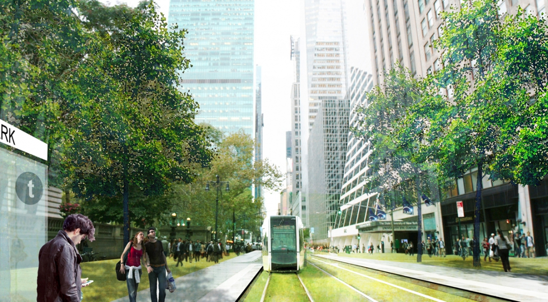 From An Infrastructure to An Urban Renewal